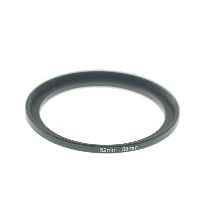 Photography 52mm to 58mm Step-Up Lens Adapter Ring For Filters