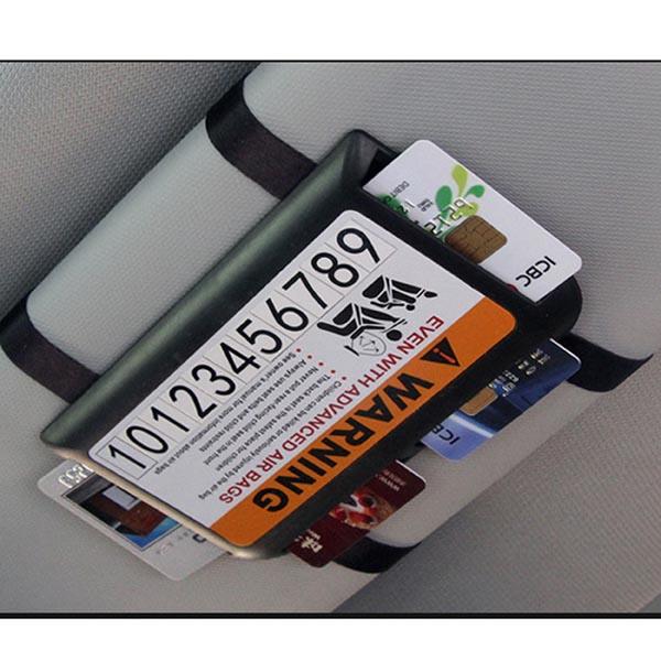 Sunshade Card Holder / Sunshade Board Clip / Sun Visor Card Organizer / Parking Card Tag