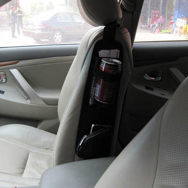 Auto / Car Seat Side Storage Bag / Multi-Pocket Organizer / Hanging Bag / Seat Side Pocket