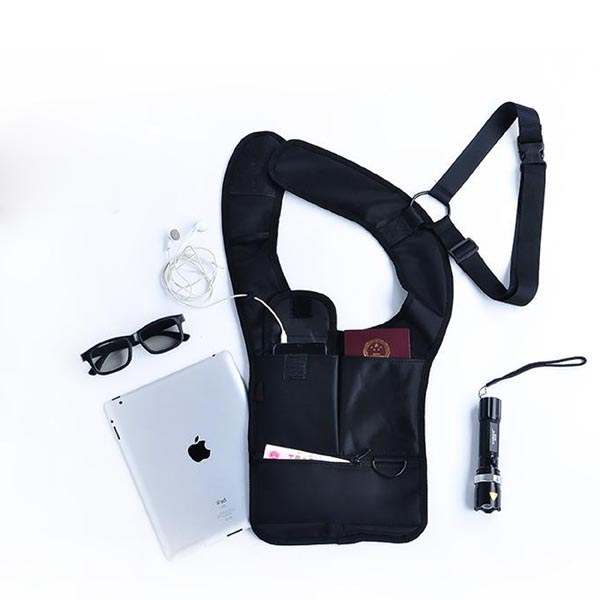 Outdoor Anti-Theft Hidden Underarm Bag / Shoulder Bag for iPad / iPhone / Smart Phones / Tablets