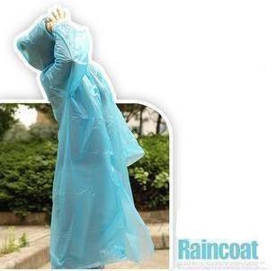 Universal Instant Outdoor Unisex Rain Poncho / Raincoat / Rainwear