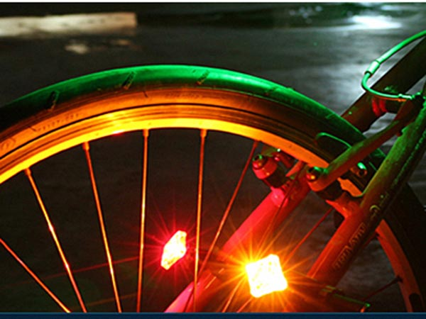 USB Rechargeable Bike / Bicycle LED Tail Light / TailLight
