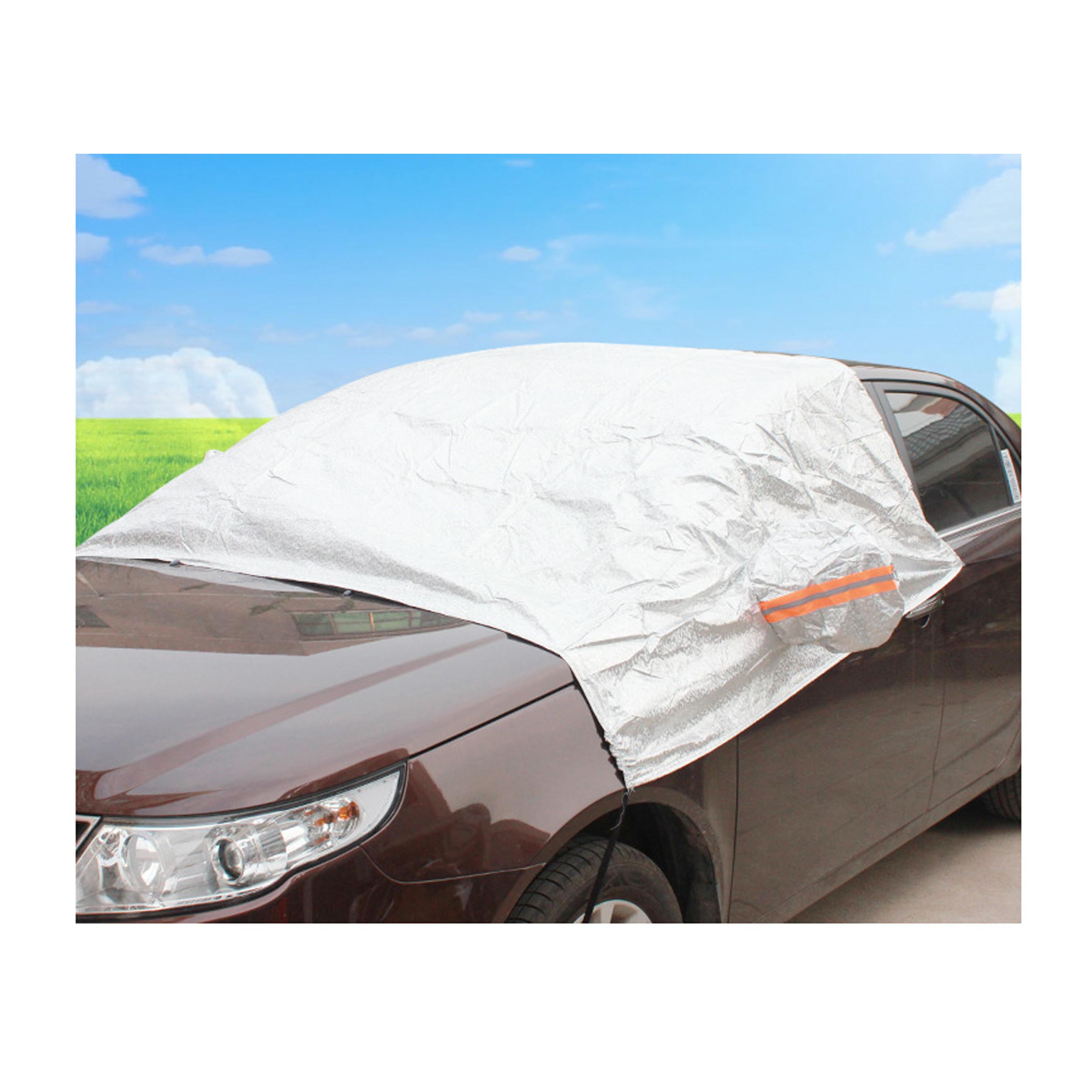 XXL Universal All-Weather Snow, Rain, Dust Proof Protection SUV Car Windshield / Window / Roof Cover